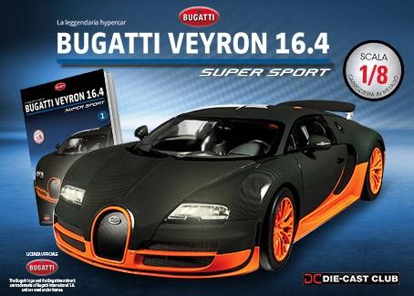 Costruisci la Bugatti Veyron 16.4