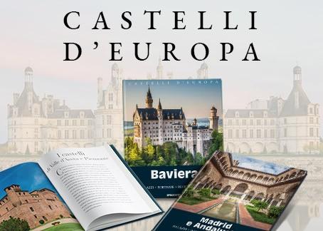 Una collezione di preziosi volumi per scoprire rocche, castelli e borghi fortificati di tutta Europa