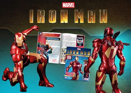 Costruisci la mitica armatura di Tony Stark! EDIZIONE LIMITATA