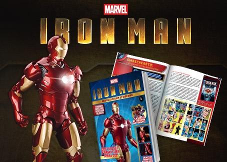 Costruisci la mitica armatura di Tony Stark