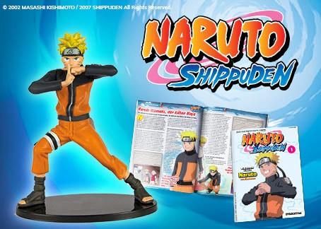 Colleziona i fantastici personaggi 3D di Naruto Shippuden