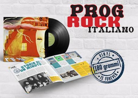 Colleziona i capolavori della più grande stagione del rock italiano.