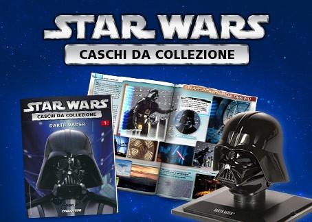 Colleziona le riproduzioni in scala 1:5 dei mitici caschi di Star Wars