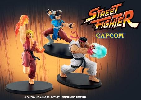 Colleziona i personaggi 3D della saga di Street Fighter